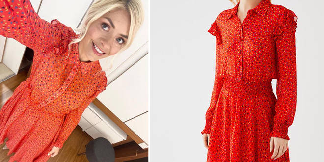 Holly Willoughby's dress is £169 from Ghost