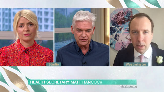 Matt Hancock spoke out on schools reopening on This Morning today