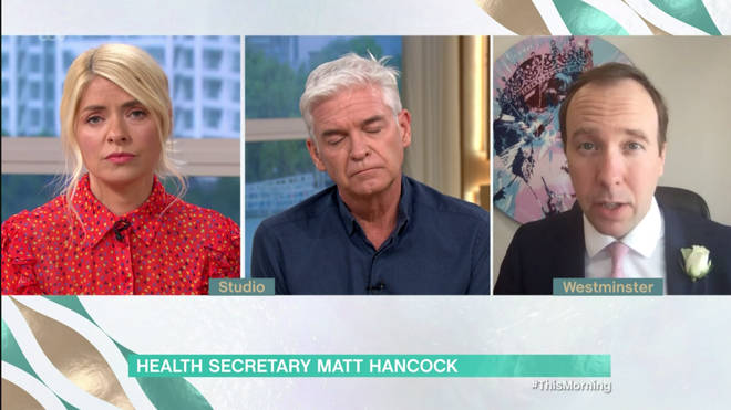 The Health Secretary appeared on This Morning earlier today