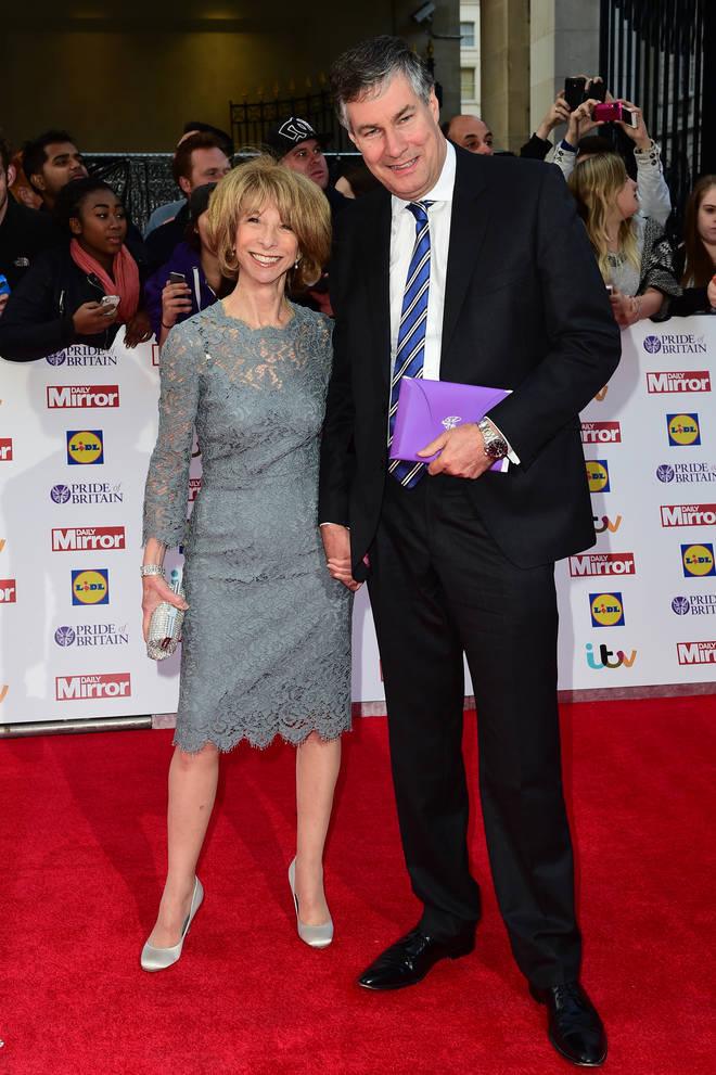 Helen Worth and her husband Trevor Dawson