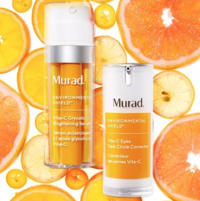 Murad's Vita-C duo face and eye serum, £128 for both