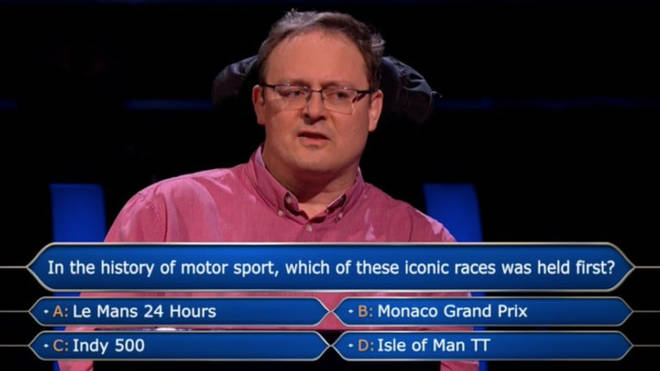 Andrew Townsley wasn't sure of the answer to the final question