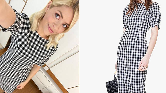 Holly Willoughby's dress is from Oasis