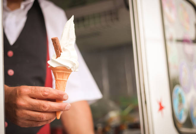 Ice cream vans must adhere to social distancing rules
