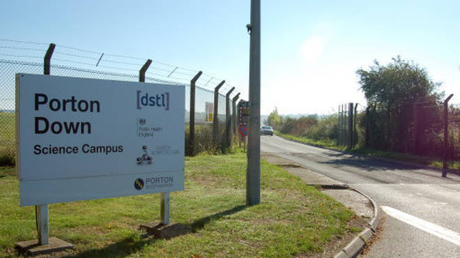 The test has been evaluated at Porton Down