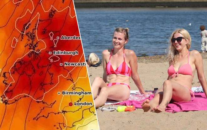 This weekend's weather is set to be a scorcher