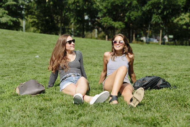 English residents are allowed to sunbathe