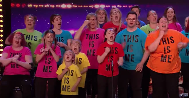 Sing Along With Us performed The Greatest Showman on BGT