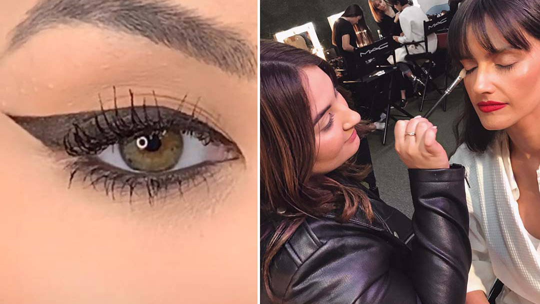 Makeup artist reveals simple trick that'll perfect your winged eyeliner in seconds
