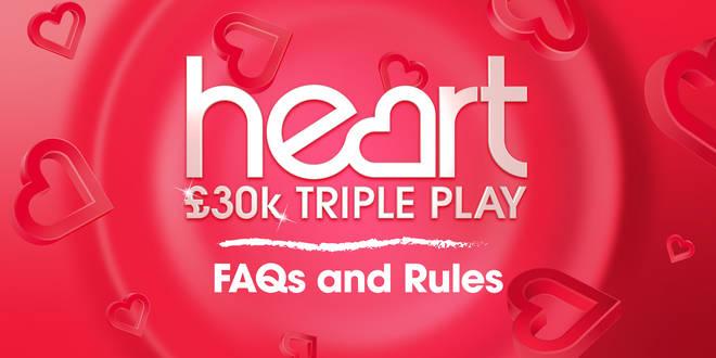 Heart's £30k Triple Play FAQs