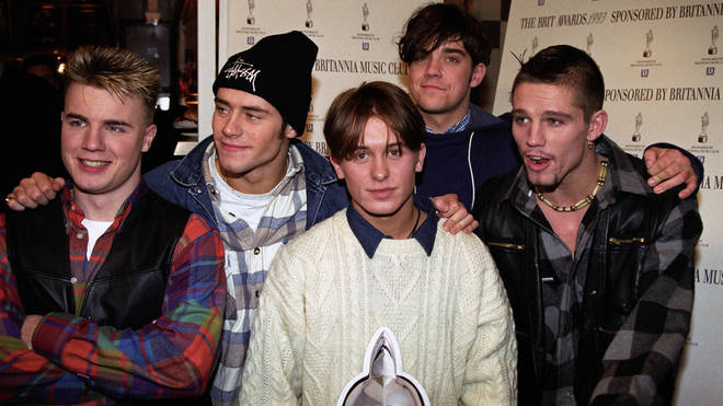 Take That formed in 1990