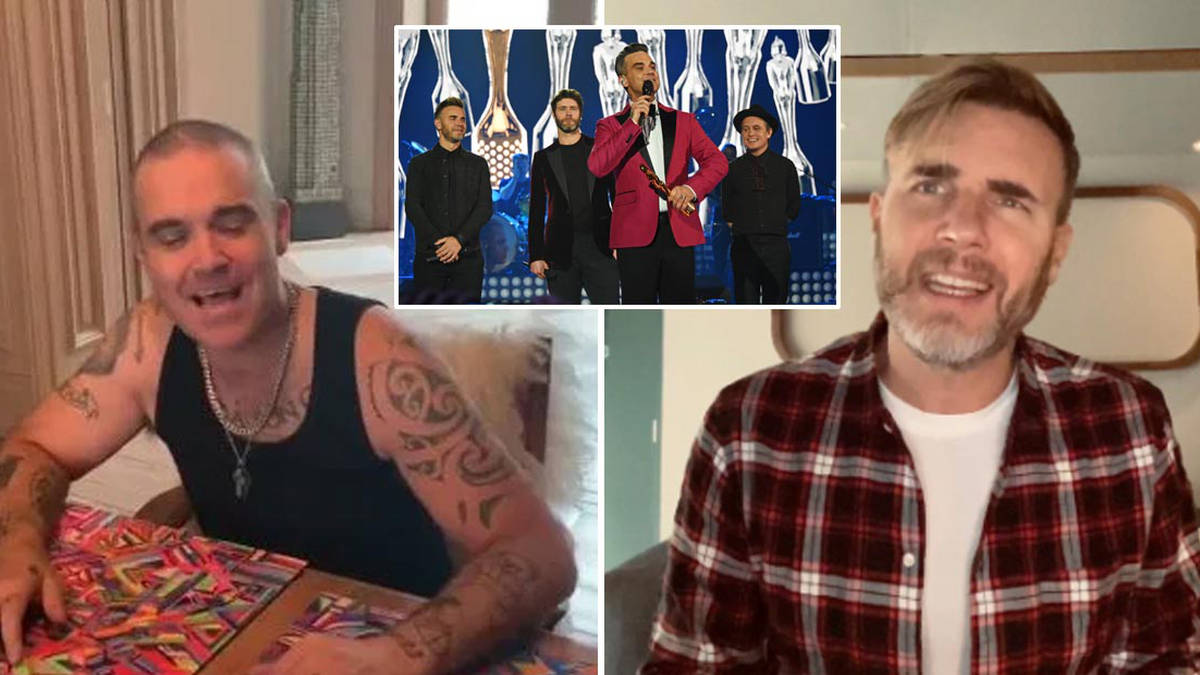 Robbie Williams set to reunite with Take That for lockdown concert