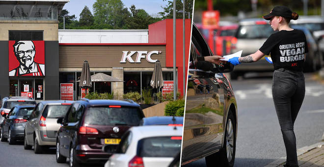 KFC is reopening 500 of it's branches this week