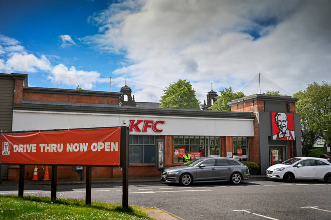 KFC is slowly opening more stores across the UK