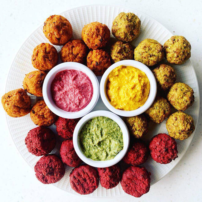 ChicP's tasty hummus flavours are really colourful