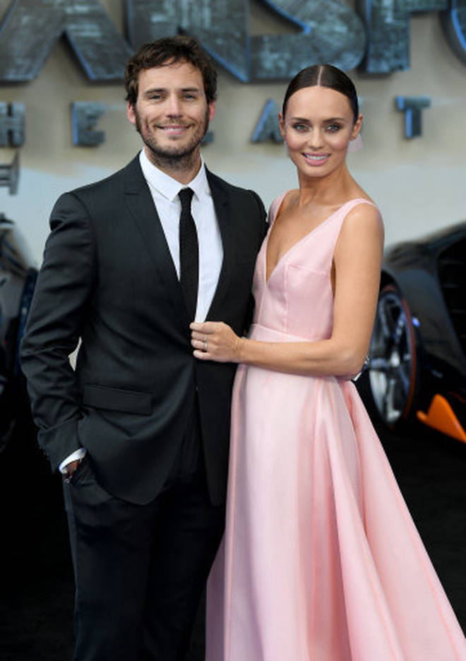 Laura was previously married to actor Sam Claflin