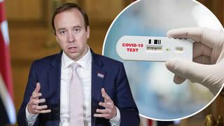 The Health Secretary Matt Hancock has announced some changes to COVID-19 testing across the UK.