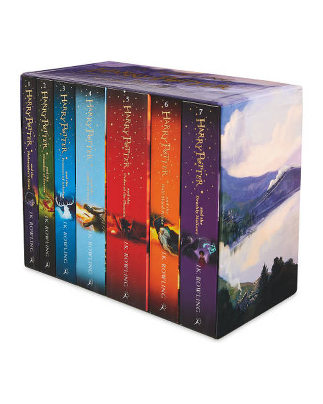 JK Rowling's full collection is available at Aldi