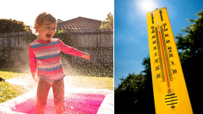 A heatwave looks set to arrive in the UK this week (stock images)