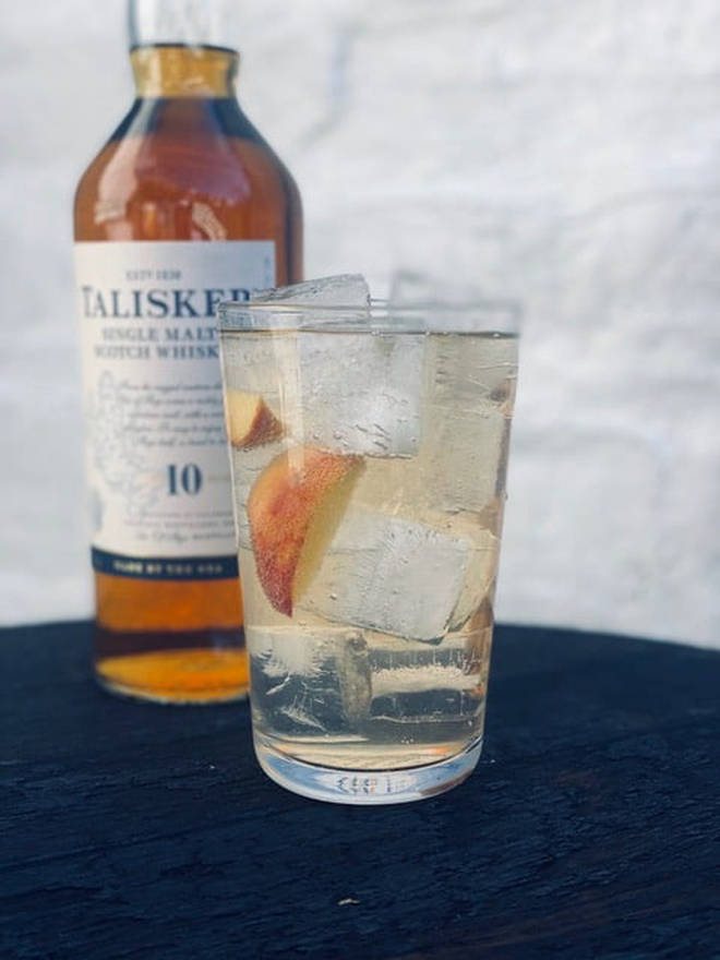 This is a light and fresh tasting cocktail