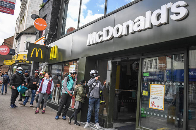 A McDonalds in Tooting that's only open for McDelivery