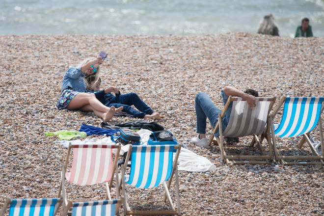 In England, you are allowed to go to the beach with members of your household