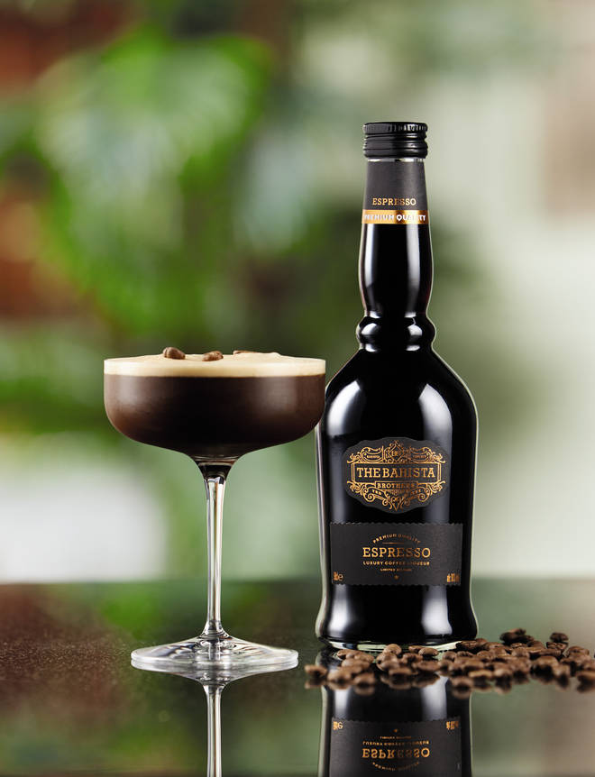 The Barista Brothers Coffee Liqueur makes a great Espresso Martini