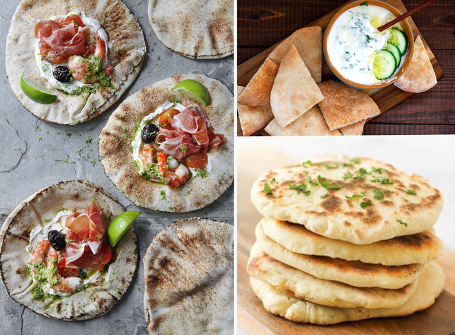There are countless ways to enjoy your homemade flat breads