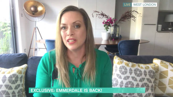 Sharon Marshall revealed the exclusive news on This Morning