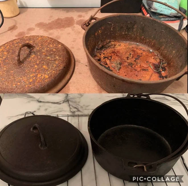 A Reddit user revealed their cleaning hack