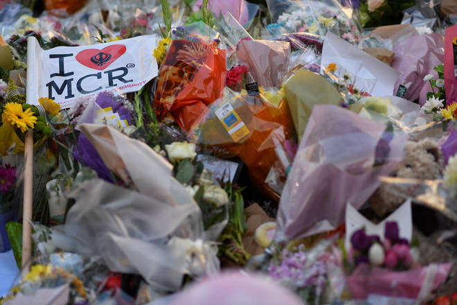 Tributes left to the victims after the 2017 atrocity