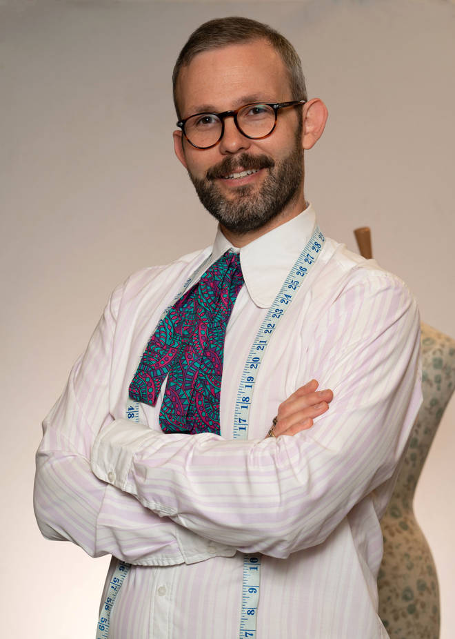 Mark from The Great British Sewing Bee