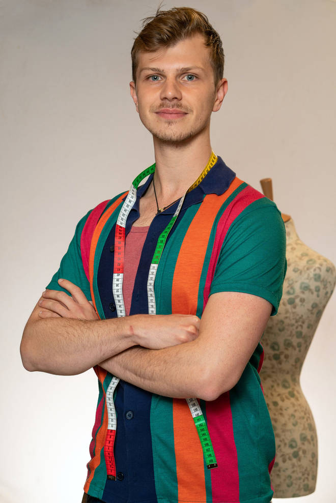 Alex from The Great British Sewing Bee