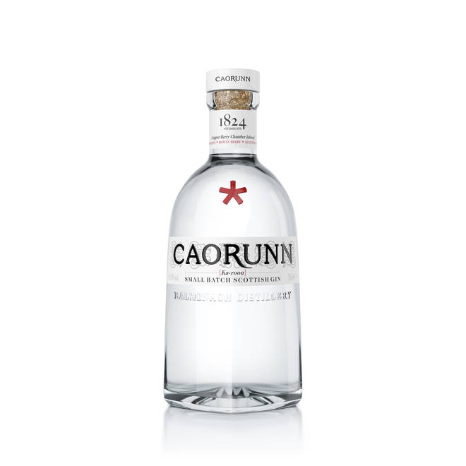 Caorunn gin is made with Scottish botanicals
