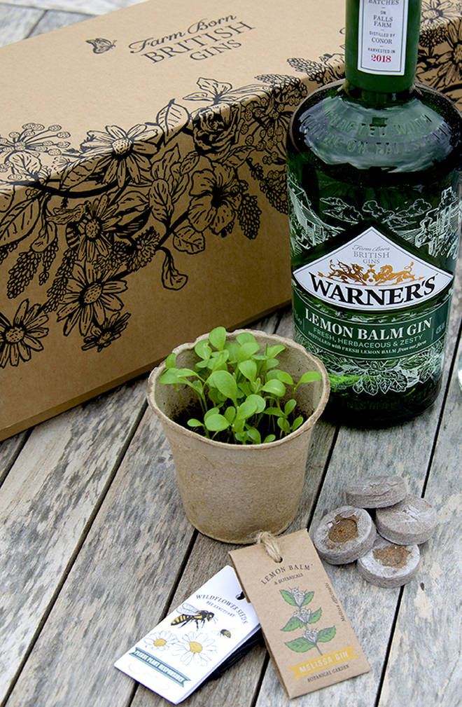 All bottles ordered from the Warner's distillery come with a home growing kit