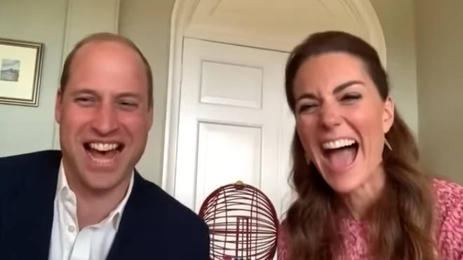 Kate and William video called into a care home to play bingo
