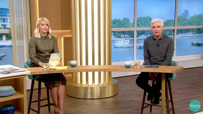 Holly Willoughby and Phillip Schofield are taking the week off for half term