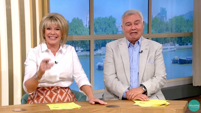 Ruth Langsford and Eamonn Holmes will be hosting the show for the week instead