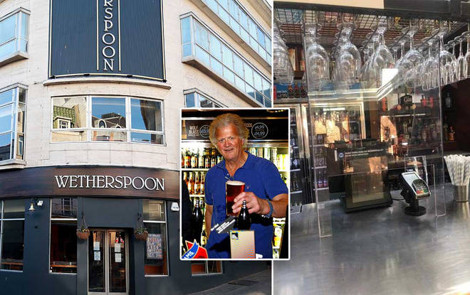 Tim Martin has been heavily criticised for how he's handled the closure of his pubs
