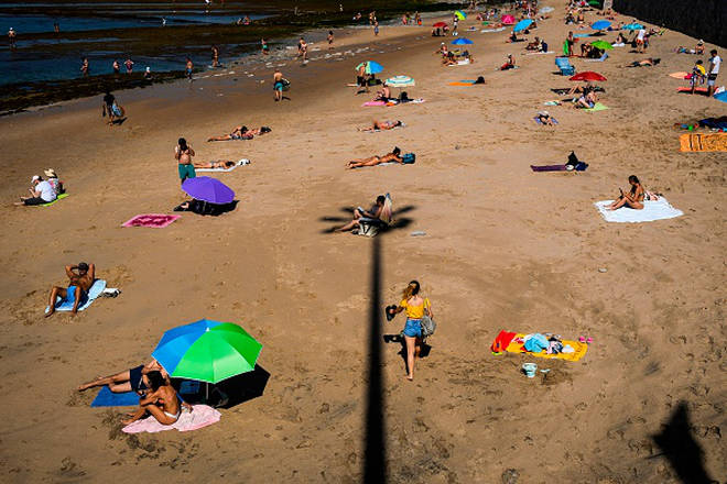 Portugal beaches could very well become flooded with Brits