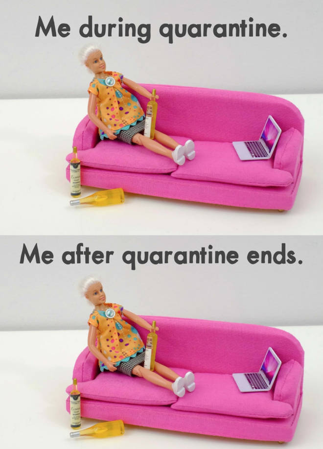 Me During Quarantine