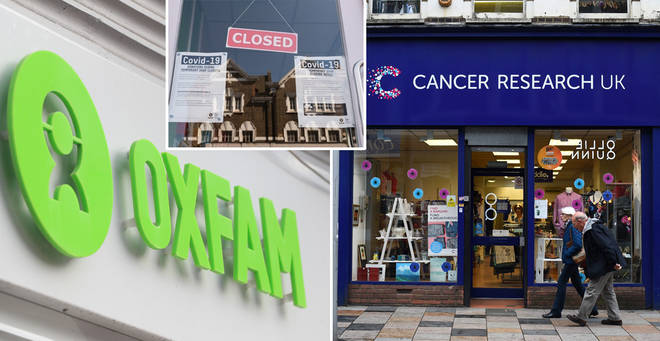 Charity shops will begin a phased reopening next month