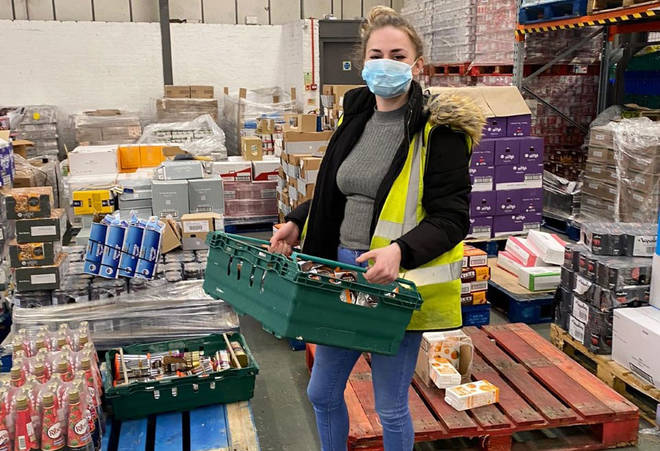 Vulnerable families are more reliant on food banks than ever before (file photo)