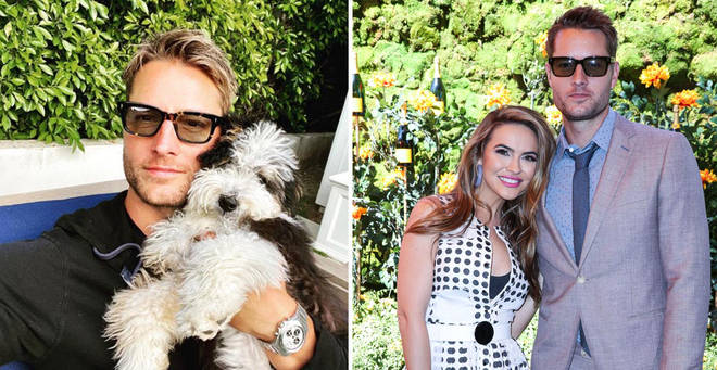 Justin Hartley filed for divorce from Chrishell Stause last year