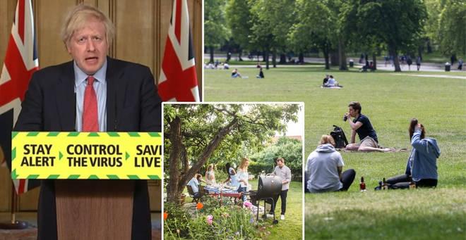 Boris Johnson has announced new lockdown rules