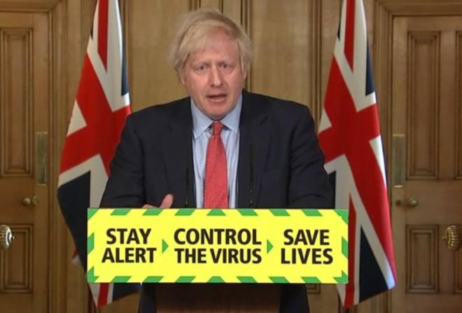 Boris Johnson addressed the nation on May 28th