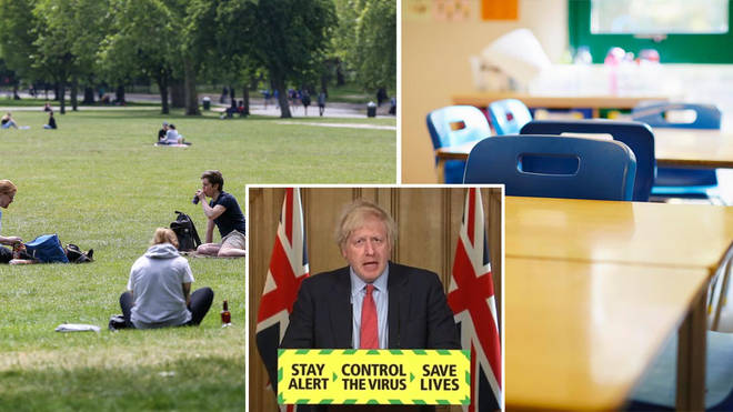 Boris Johnson announced new lockdown easing