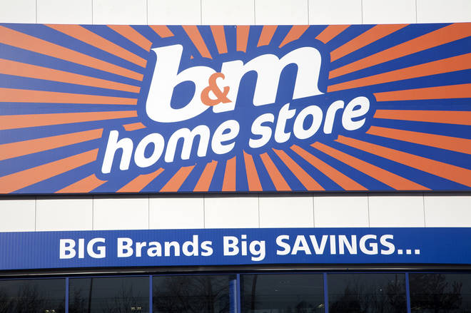 B&M have been allowed to remain open during lockdown