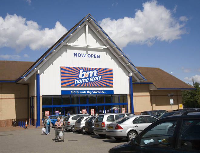 B&M is introducing measures to keep staff and shoppers safe