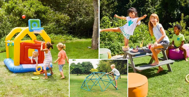 Lidl has launched their kids' outdoor play range